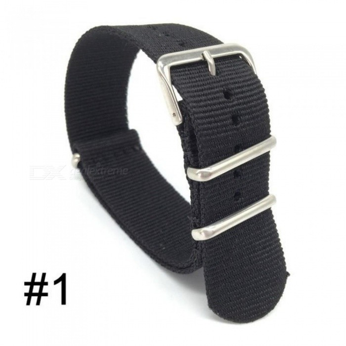 22d9b2f310 18 20 22 24mm Brand Army Sports Nato Fabric Nylon Watchband Accessories  Bands Buckle Belt for