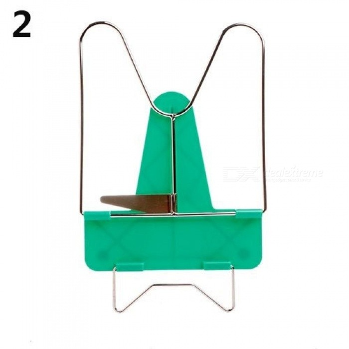 Book Holder Portable Foldable Metal Reading Adjustable Angle Reading Book Stand Document Holder Multi Colors For Option