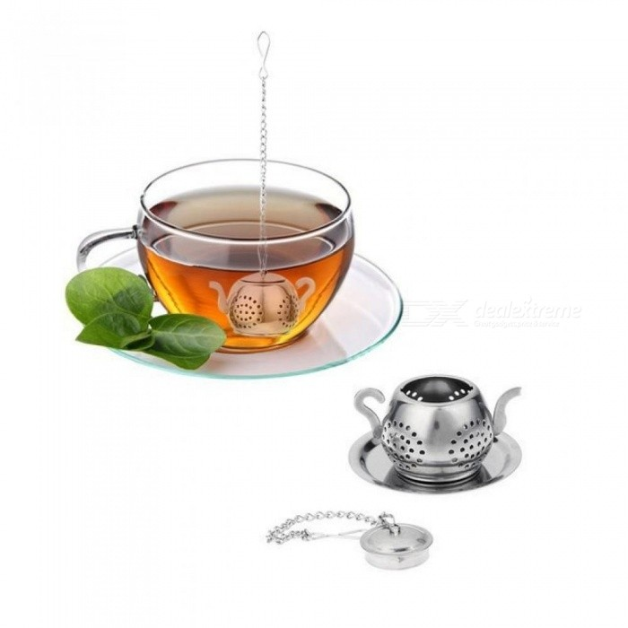 Stainless Steel Tea Infuser Teapot Tray Spice Tea Strainer Herbal Filter Teaware Accessories Kitchen Tools Tea Infuser