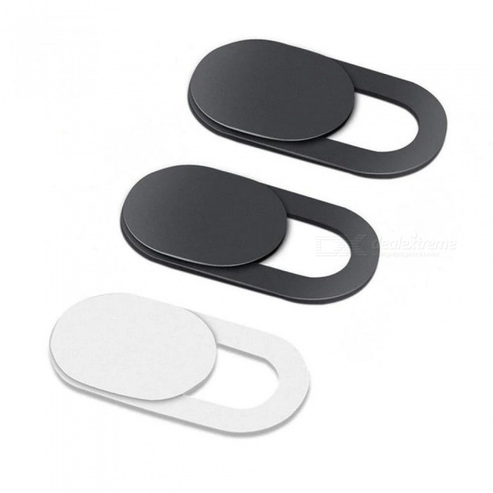 6PCS WebCam Cover Shutter Magnet Slider Plastic Camera Cover for Webcam iPhone PC Laptops Mobile Phone Lens Privacy Sticker