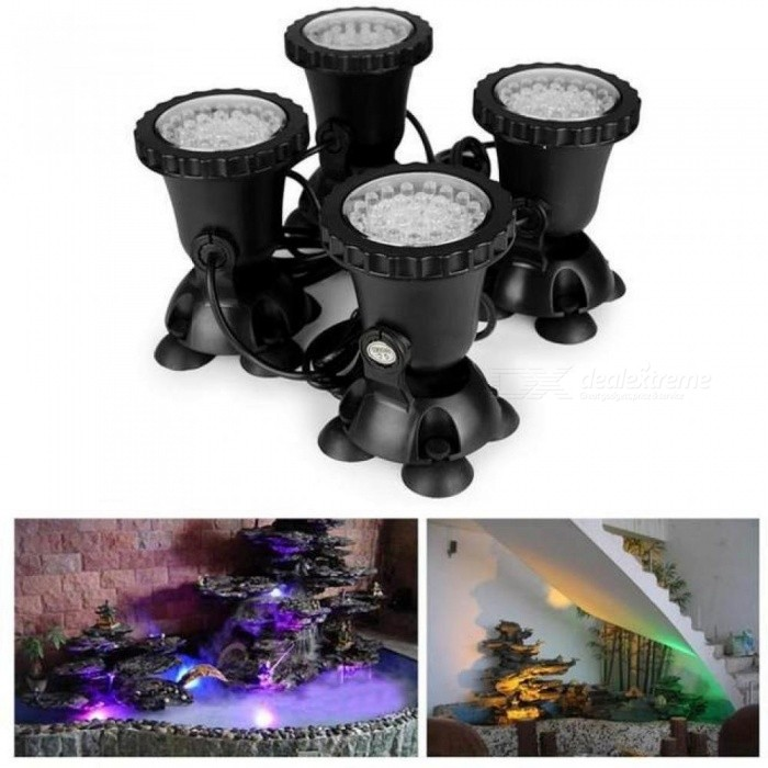 Spot Led Submersible 4 submersible led rgb pond spot light for underwater pool fountain