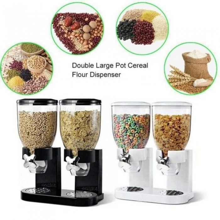 db3c855a1 Multifunctional Pasta Cereal Dry Food Dispenser Storage Container Dispense  Household Kitchen Machine Food Storge Bottles