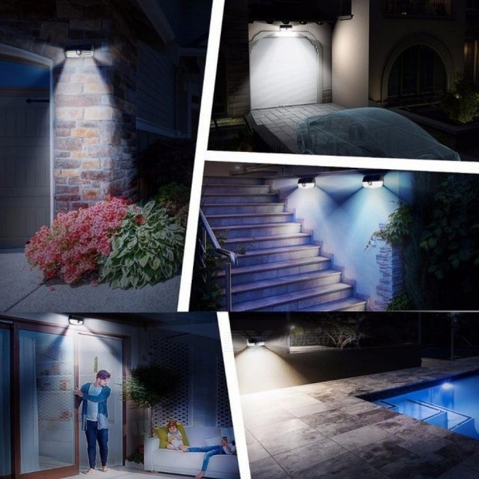 Mpow Cd137 30 Led Jardin Luces Solares Ipx7 Impermeable Lampara