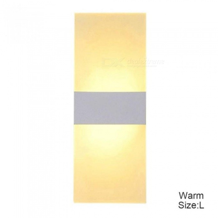 LED Wall Sconces Aluminum Lights 3/6W Fixture On/Off Decorative Lamps Night Light for Pathway Staircase Bedroom 14*6 22*11 29*11