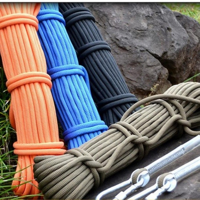9.5mm Diameter Climbing Outdoor Climbing Rope / Safety Rope / Rock Climbing Rope Life Rope Multi Colors Optional