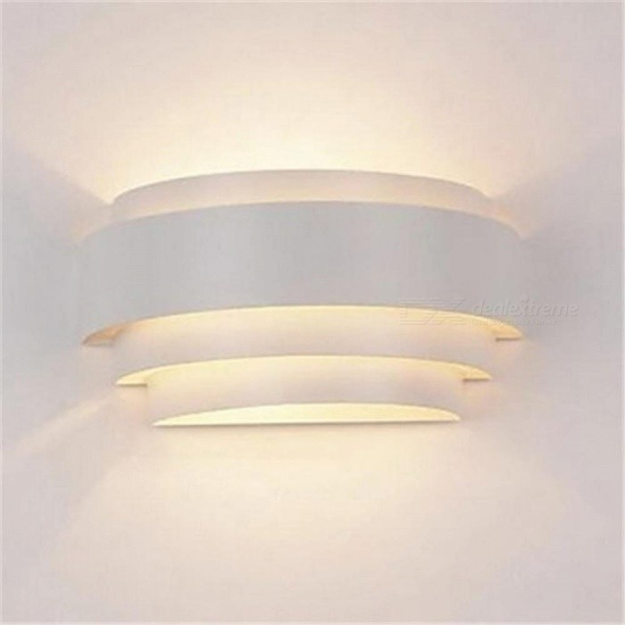 Modern Wall Lamp LED White Wall Sconce Ambient Light Flush Mount Wall Lights Lustres bathroom Fixtures Home Lighting