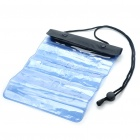 PVC Waterproof Bag with Hang Strap - Blue