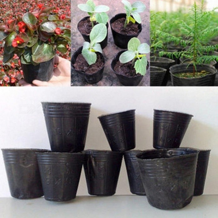 100pcs Nursery Pots Plant Seeds Grow Box Tray Insert Propagation Seeding Case Flower pot plug Nutrition cup Garden Supplies