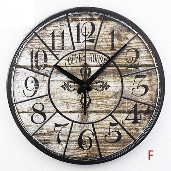 Frozen Large Decorative Wall Clocks Modern Design Silent Living Room Wall Clock Wall Watches Home Decor