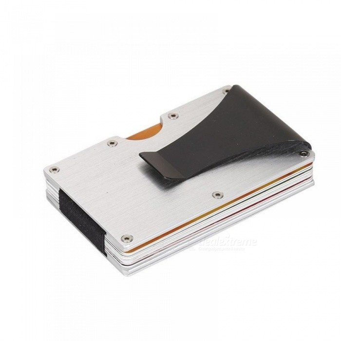 Minimalist Slim Wallet RFID Blocking Credit Cards Holder Front Pocket Wallet for Men and Women With Money Clamp