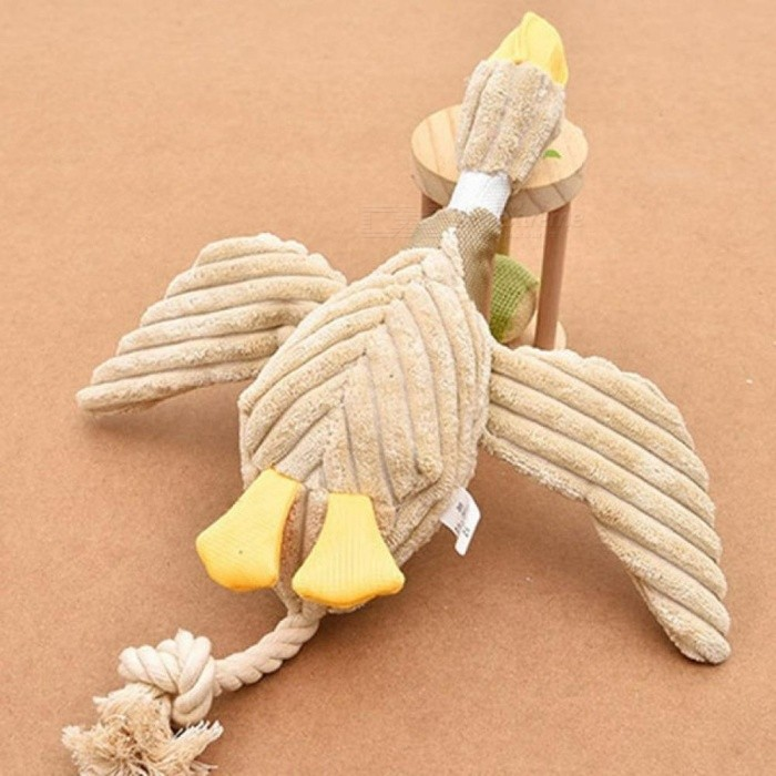 Funny Dog Chew Toy Sound Plush Pet Puppy Toys Squeaky Duck Toys For Dog Soft Pets Cat Bite Chewing Puppy Dog Toy