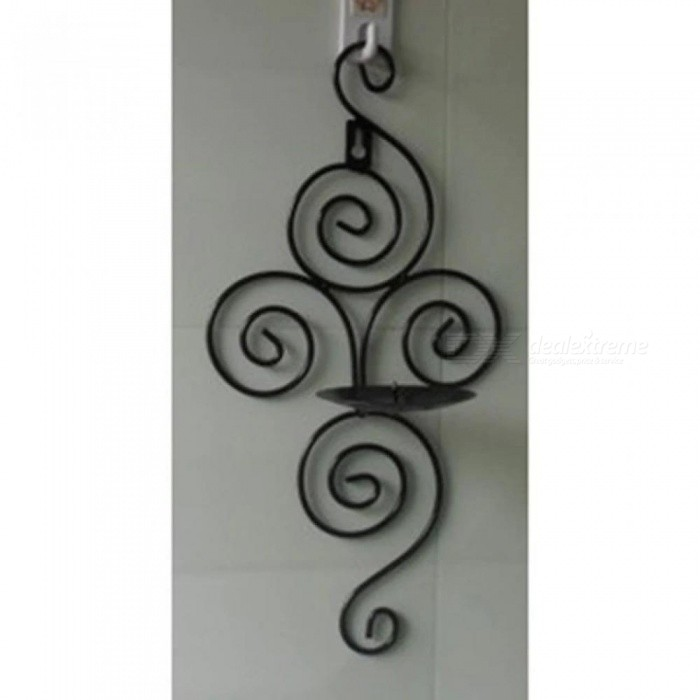 Iron Candle Holders Sconce Hanging Wall Art Candlestick For Decoration Weddings Candle Holder Wedding Centerpieces