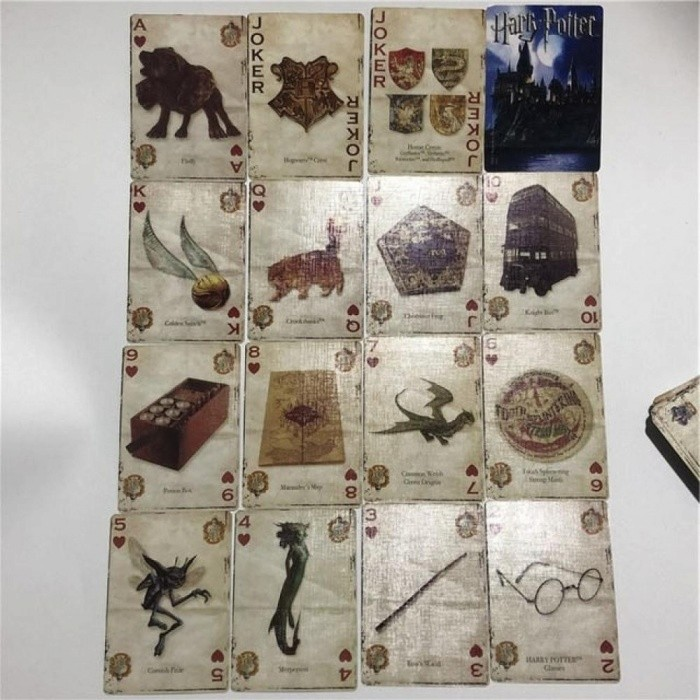 Harry Potter Playing Cards Funny Movie Cards for Board Game Beautiful Card Game Collection English Poker Card