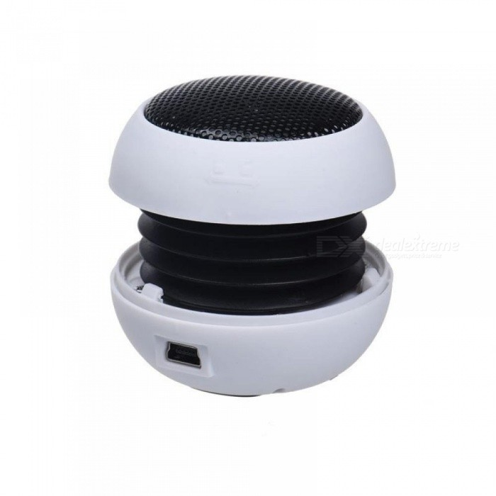 Mini Portable Hamburger Speaker Amplifier For iPod For iPad Laptop iPhone Tablet Plastic Material Multi Colors Optional