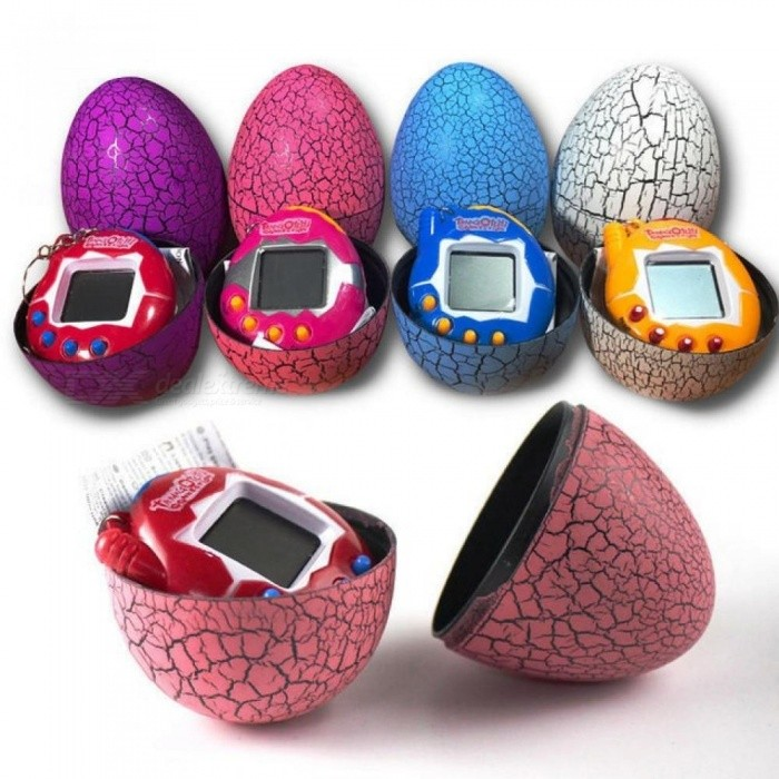 Electronic Pet Toys 90S Nostalgic 49 Pets In One Virtual Cyber Egg Toy For Children Kid Interactive Toy New Year Gift