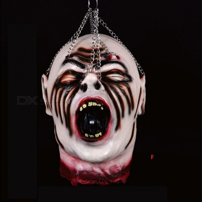 Latex God-awful Halloween Party Scary Mask Skull Horror Bloody Mask Halloween Masquerade Scream Halloween Party Supplies