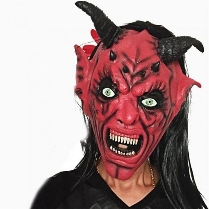 Screaming Horror Bloody Face Off Horror Halloween Costume Mask Halloween Decorations Horror Bloodthirsty Demons Mask