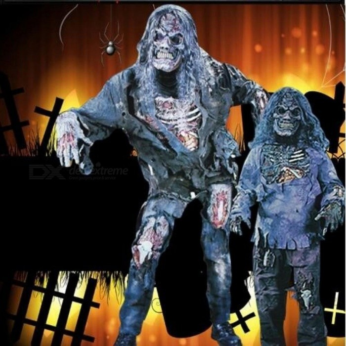 Halloween Costume Adult Demon Ghost Zombie Clothing Set Cosplay Costumes Horror Vampire Corpse Performance Clothes