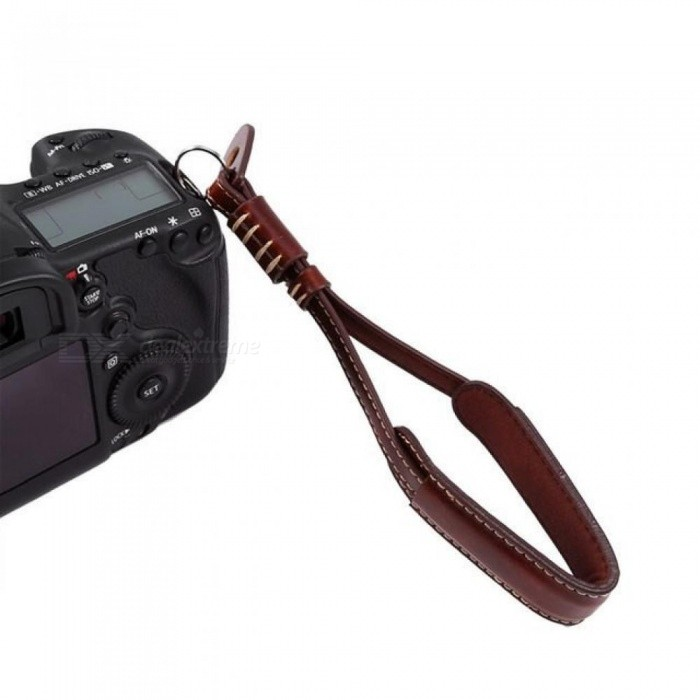 19CM PU Leather Camera Hand Strap For Nikon Fuji For Sony DSLR SLR Camera Wrist Strap With Multi Color Optional