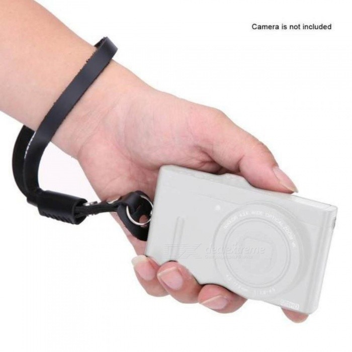 Genuine Leather Camera Wrist Hand Strap Universal Camera Carrying Belt Wrist Strap Grip Band for Sony/Lumix/Nikon/Canon