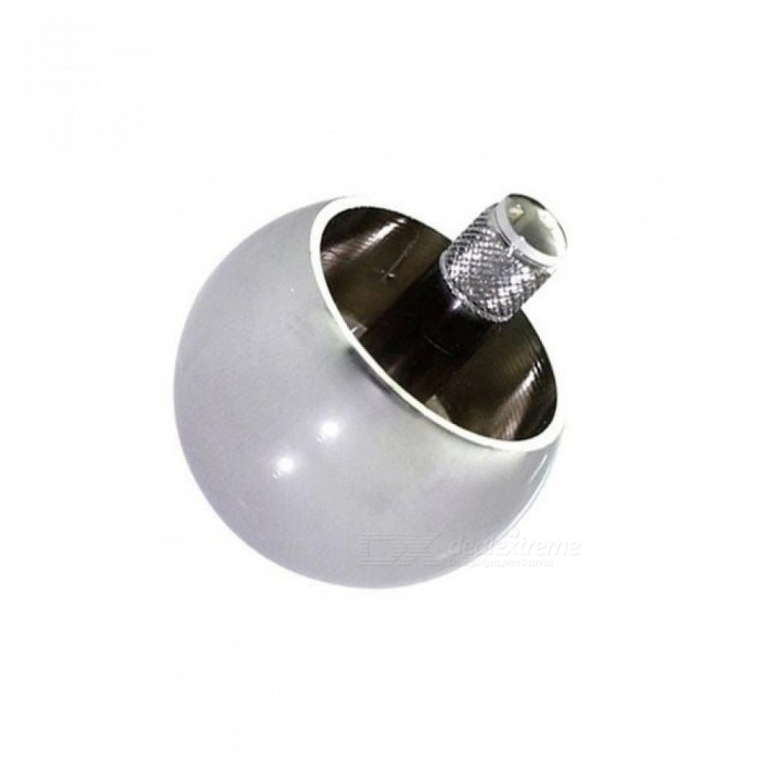Metal Flip Over Top Tippy Spinning Top High Polished Metal Top With Silver Color For 1 Piece 3*3*7.5CM