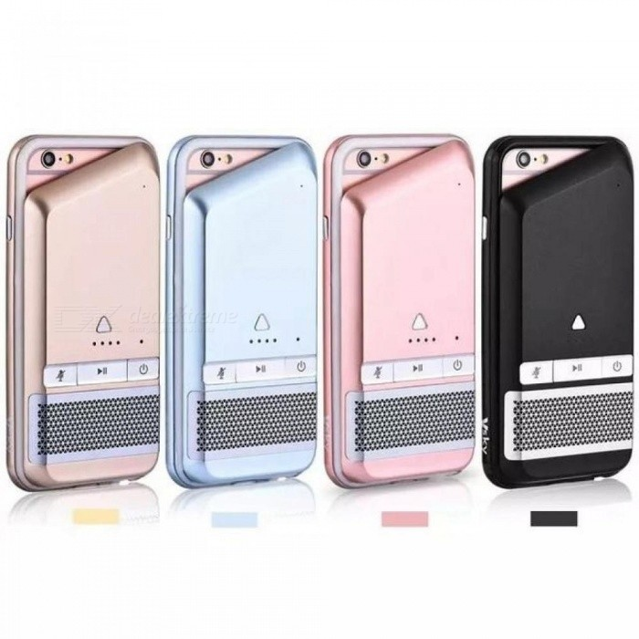 Multi-function Phone Case 1800MA Power Bank Bluetooth Speaker Phone Case for iPhone 6 6S battery charger Cases Cover