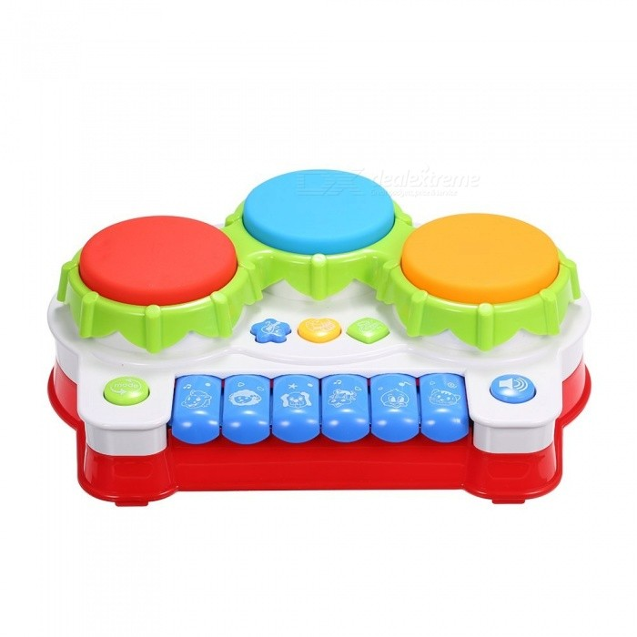 Musical Toys Music Piano Keyboard Drums Electronic Learning Toy Fun Playing For Toddler Baby Kids Educational Game