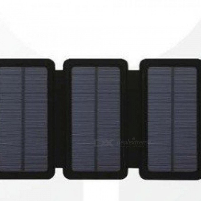 SunPower 11W Folding Solar Panels Cells Charger Battery Sunpower USB Output  Fast Charging Devices Portable For Smartphones 5 Solar Panels