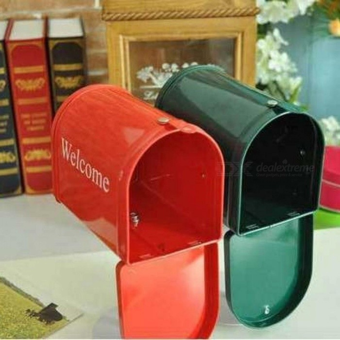 DIY Crafts Zakka Photo Props/Home Decoration Mailbox With Stand/ Storage For Letter Box /Greeting /Post Card