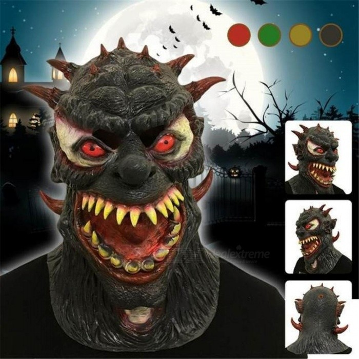 Party Masks Variation Monster Halloween Masks Horror Movie Cosplay Dress Up Scary Festival Party Props Halloween Mask Latex