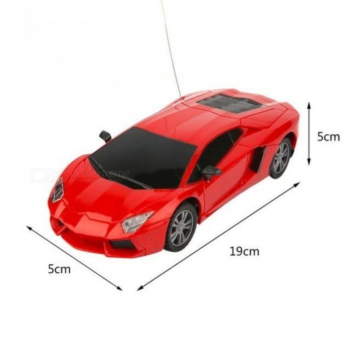 Kids RC Car Toys 1:24 Electric Models Remote Control Car 4 Channels Classic Fast Speed Control Racing Car Toys Gift for Children