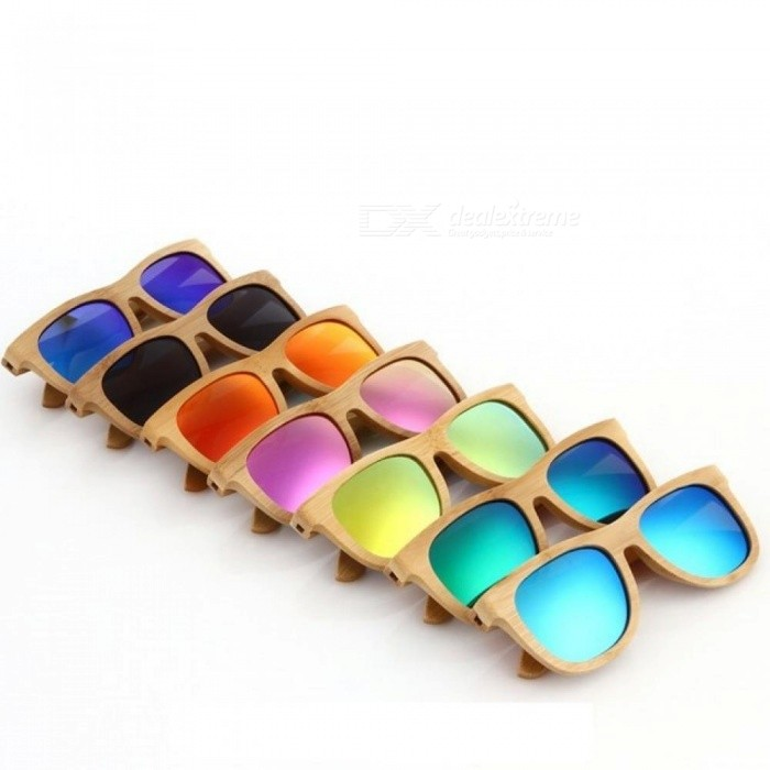 d866051808e Wooden Sunglasses Polarized Bamboo Brand Sun Glasses Vintage Wood Case  Beach Sunglasses For Driving Gafas De Sol Pink - Worldwide Free Shipping -  DX