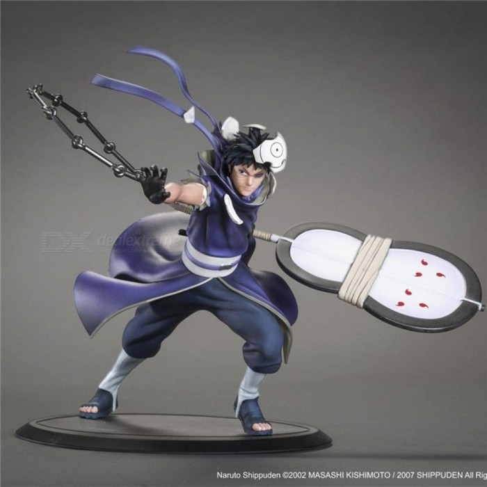 Naruto Shippuden Uchiha Obito Anime Action Figure Pvc Collection Model Toys For Christmas Gift For 18 Cm Without Retail Box