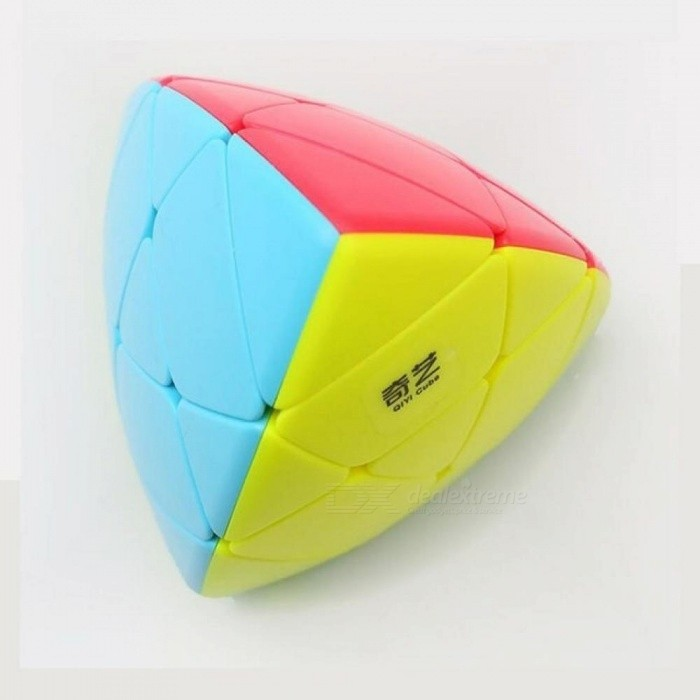 3x3 Cube Stickerless Pyramid Twisty Magic Cube Puzzle Toys Gift For Children Adult Plastic Material 77.5CM