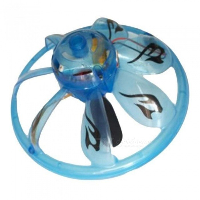 Hand Induction UFO Flying Rc Aircraft Sensing UFO Suspended Flywheel Suspended UFO Mini Drone Outdoor Toys Random Color