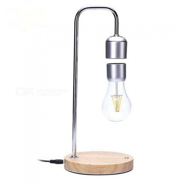 Magnetic Levitating Floating Bulb Desk Lamp for Unique Gifts Room Decor Night Light Home Office Desk Tech Toys