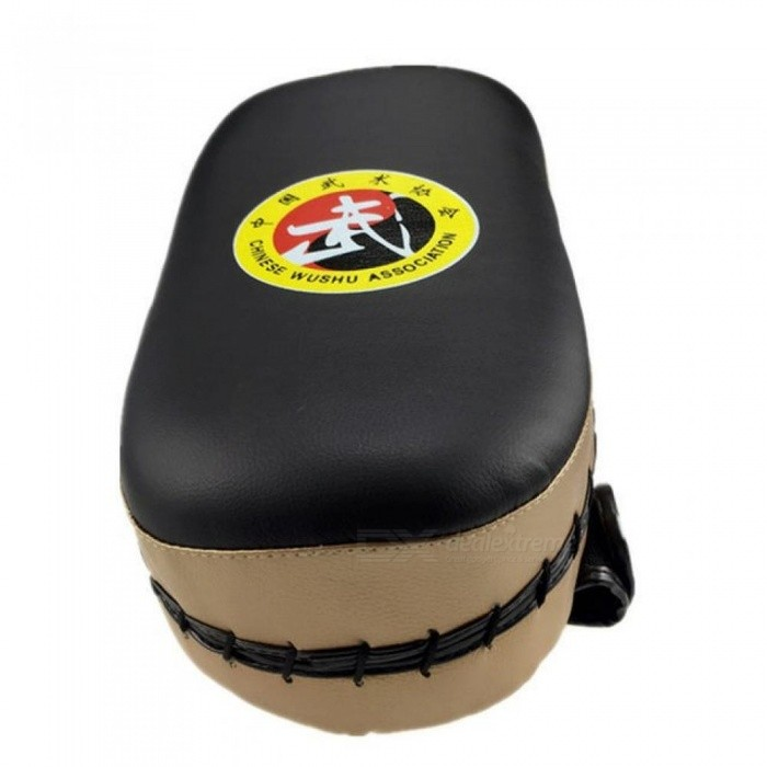 PU leather Sport Training Equipment Boxing Muay Thai Kick Boxing Training Shield Curve Pads Punch MMA Foot Target