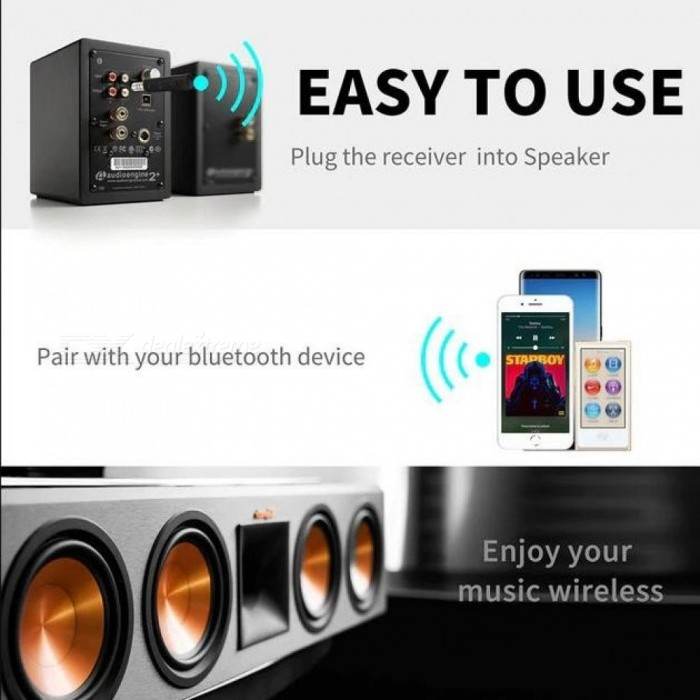 Stereo 3.5 Bluetooth Wireless For Car Music Audio Bluetooth Receiver Adapter Aux 3.5mm A2dp For Headphone Receiver Jack Handsfre