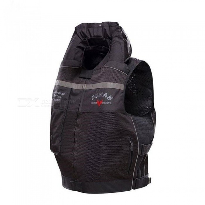 Motorcycle Air-bag Vest Cylinder Motorcycle Vest Reflective Professional Advanced Air Bag System Motocross Protective