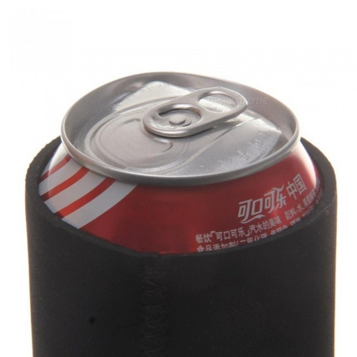 Stubby Beer Bottle Tin Can Cooler Sleeve Holder Wedding Favor Soda Bee Sleeve Supplies Home Decoration Gift 10pcs
