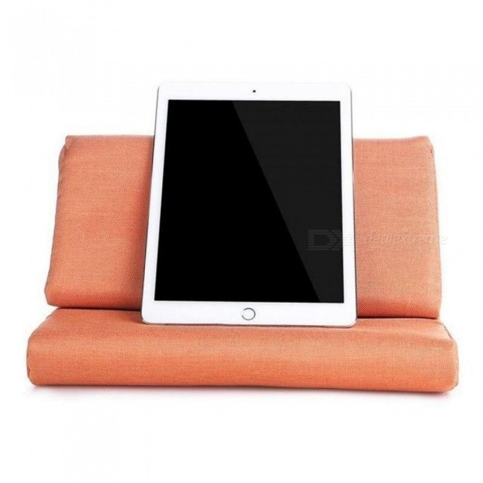 Tablet Pillow Stand for iPad Air/iPad 4/iPad 3/iPad 2/iPad 1/Nexus/Galaxy Orange With Multi-Color Optional