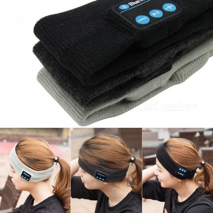 Bluetooth Knitted Winter Hat headset Hands-free Call Music Mp3 Speakers Mic Cap Magic Sports Hats For Xiaomi iPad
