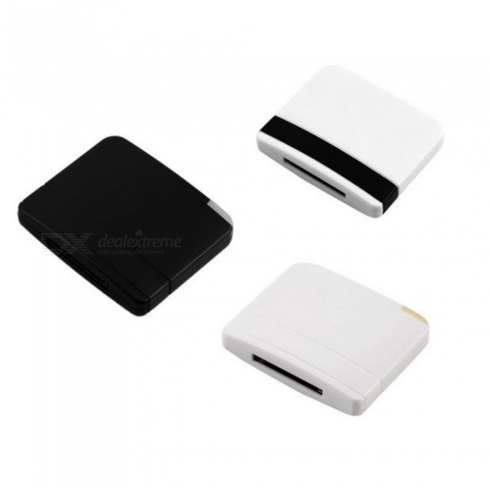 Stereo Sound Chip A2DP Bluetooth V2.0 Audio Music Receiver Adapter For iPad iPod iPhone 30 Pin Dock Speaker 3 Colors