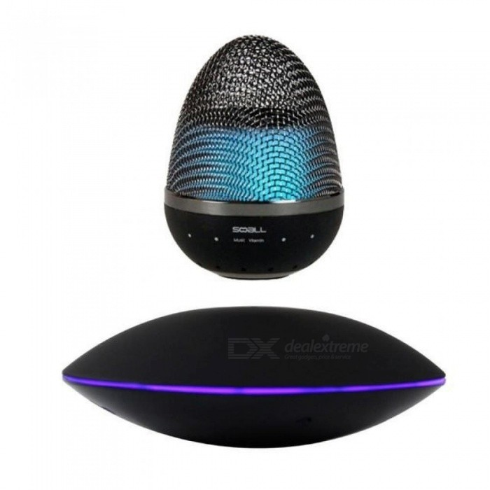 Wireless Magnetic levitation Floating Bluetooth Speaker Colour Changing NFC For iPhone Samsung HTC Ipad MP3