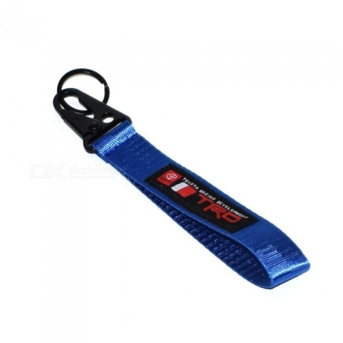 Key Rings For TOYOTA Key Chain BRIDE JDM Style SPARC Lanyards Auto Key Rings for Mobile Phone ID Card Hanging Strap