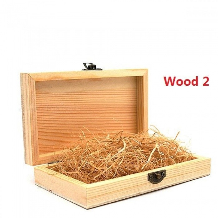 Wood Wedding Bow ties Boxes real Wood Boxes With Lid Golden Lock Wood Boxes For Gifts Caja Madera Wooden Boxes
