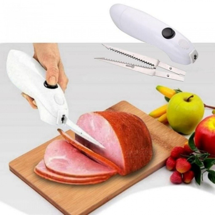 Electric/Automatic Steak Knife Top Rated Stainless Steel Electric Meat Knife Easy Cut Cordless Knife For Pork TQ