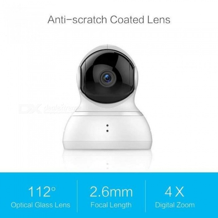 Camera Pan/Tilt/Zoom Wireless IP Cam Security Surveillance System HD 720p Night Vision Internation Version Cloud Service