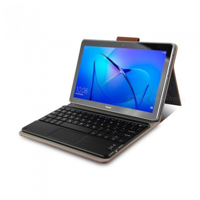 Wireless Bluetooth Keyboard Pu Leather Cover Protective Smart Case
