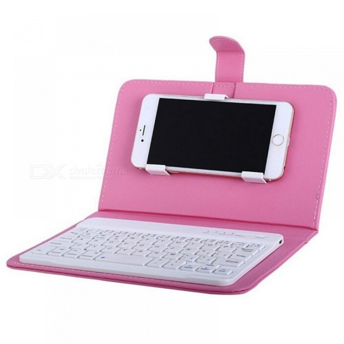 PU Leather Wireless Keyboard Case for iPhone Protective Mobile Phone With Bluetooth Keyboard For iPhone